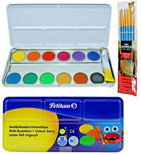 Pelikan Farbkasten Wasserfarbe Deckfarbkasten Tuschkasten Malkasten Schule