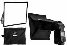 Life of Photo Universal 20x30cm Portable Mini Softbox for Hotshoe Flash Guns