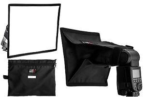 20x30cm Folding Mini Softbox Diffuser Hotshoe Flashgun Speedlite Speedlight