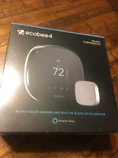 Ecobee 4 Alexa Enabled Smart Thermostat with Sensor Brand New