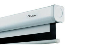 """Optoma DS9106PMG+ 106"""" Manual Pull Down Projection Screen - collection only"""
