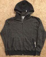 Billabong Hoodie Hoody Full Zip Dark Gray / Black Mens Sz S Sweatshirt Jacket