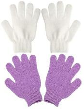 Exfoliating Bath Body Glove Spa Sponge Loofah Loofa Brush Sisal Scrubber 2 Pairs