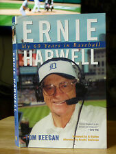 "New ""Ernie Harwell My 60 Years in Baseball"" Hardcover Book +cover Detroit Tigers"