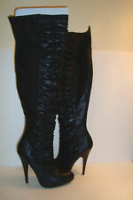 Carlos By Carlos Santana Womens NWB Kino Blk Over The Knee Boots Shoes 7.5 M New