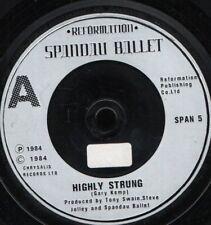 "SPANDAU BALLET highly strung 7"" WS EX/ uk silver label sol"