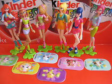 WINX  complete set with all papers and stickers  KINDER  SURPRISE  EGG  ITALY