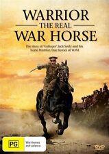 Warrior - The Real War Horse (DVD, 2012)-REGION 4-Brand new-Free postage