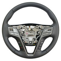 For 2016 2017 2018 2019 Hyundai Santa Fe Steering Wheel Assembly W/ Buttons RY1