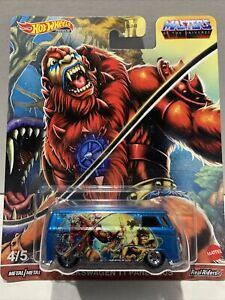Hot Wheels Masters Of The Universe Volkswagon T1 Panel Bus Beast Man SEALED