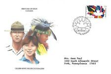 CANADA 1990 FIRST DAY COVER, MULTICULTURAL HERITAGE OF CANADA