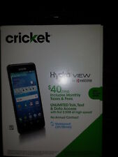 Kyocera Hydro View 4g LTE 8gb Android Cell Smartphone Black Cricket Wireless