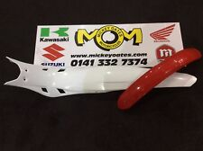Montesea 4rt Mudguards (White Rear & Red Front..No Decals)