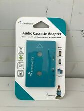 New Travelocity Audio Cassette Adapter 3.5mm for Iphone, Mp3, Ipod