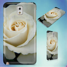WHITE ROSE HARD CASE FOR SAMSUNG GALAXY PHONES