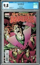 Secret Wars #5 CGC 9.8 (Oct 2015, Marvel) Tomm Coker Variant cover, Doctor Doom