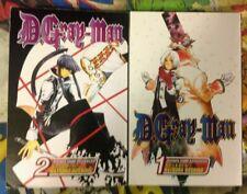 D Gray-Man Manga Volumes 1 & 2, 1-2 Japanese Anime Manga Comics Books Softback