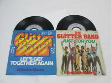 Glitter Band: 2 Singles im Doppelpack. Let's Get Together Again, Just For You.