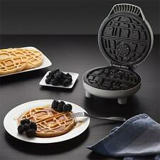 "STAR WARS Official DELUXE Licensed 7"" DEATH STAR Shaped WAFFLE MAKER Non-Stick"