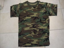 Camouflage Outdoor Apparel Green Soft T Shirt Size S