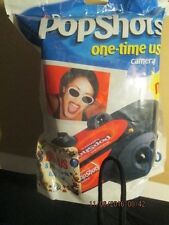 Polaroid instant Popshots one-time use collectible camera 6/2001 sealed in packa