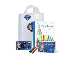 I'm a Trooper Gift Bag-Frozen Anna-Single use Disposable Camera /child(Pkg-120)