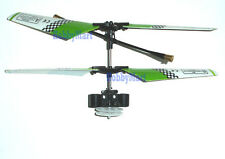 SH 6020 3CH Helicopter Main Blade Full Set Part with Gear on Green Color x 1