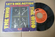 "THE WHO""LET'S SEE ACTION-DISCO 45 giri POLYDOR Italy 1971"