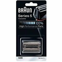 Braun Replacement Foil and Cutter Cassette - Black