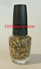 Opi Nail Lacquer I Reached My Gold 0.5oz *New*