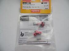 """KYOSHO MBW019R Fusées Arrière Aluminium """"Red"""" Mini-Z BUGGY"""