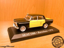 SEAT 1500 TAXI BARCELONA 1970 1:43 SPAIN