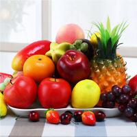 Props Artificial Apple Lifelike Orange Fake Peach Lemon Simulation Fruits