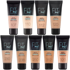 MAYBELLINE Fit Me Matte & Poreless Foundation 30ml - CHOOSE Shade - NEW Sealed