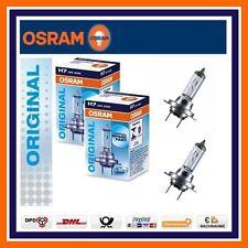 2x Osram Original Line H7 12v 55w Luz De Carretera OPEL ASTRA G J CORSA