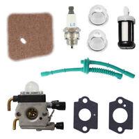 Carburetor for STIHL FS38 FS45 FS46 FS55 KM55 FS85 Air Fuel filter Gasket Carb