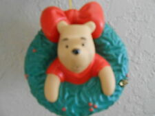 Disney Pooh & Friends  Christmas Ornament. A Wreath Of Wishes.