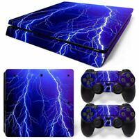PS4 slim Skin lightning Cover Sticker for Sony playstation 4