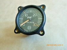 New Old Stock Vintage Fuel Pressure Gauge, US Gauge, AW-1 7/8-15-7