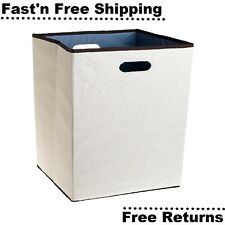 Laundry Folding Hamper Storage Bag Basket Organizer Washing Sorter Clothes Bin