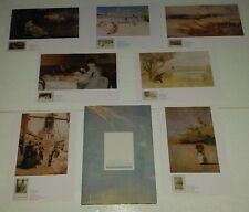 """Australian Impressionists """"Our Heritage in Stamps"""" Auspost 1989 With 1st Day Cov"""