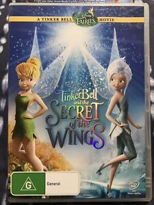 TINKER BELL AND THE SECRET OF THE WINGS *GC* R4 DVD TINKERBELL