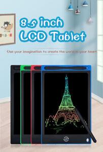 LCD Schreibtafel 8,5 Zoll, mit Anti-Clearance Funktion , Buntes Display