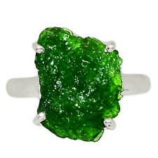 Chrome Diopside 925 Sterling Silver Ring Jewelry s.8 AR159691