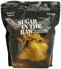 Sugar in the raw natural cane turbinado sugar 6 lb bulk 96 oz