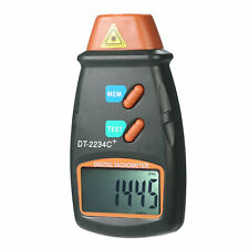 Handheld Digital Lcd Photo Tachometer Non With 3pcs Reflective Tape Y4l1