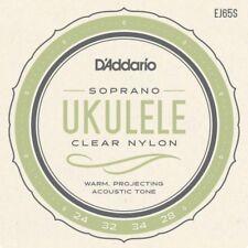 D'Addario EJ65S Pro-Arte Custom Extruded Uke Nylon Soprano Ukulele Strings