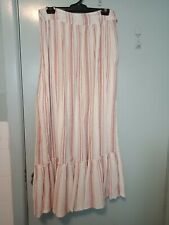 Antik Batik red and white stripped maxi skirt in size 8
