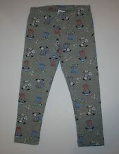 New Gymboree Mix N Match Line Gray Puppy Print Leggings Legging Size 4T NWT