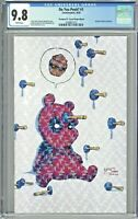 Do You Pooh #1 CGC 9.8 Deadpool #1 Crystal Virgin Edition Young Cover Homage UCB